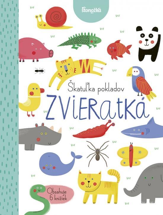 Kniha: Škatuľka pokladov: Zvieratká