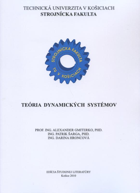 Kniha: Teória dynamických systémov - Alexander Gmiterko