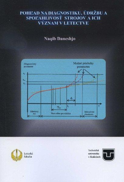 Kniha: Pohľad na diagnostiku, údržbu a spoľahlivosť strojov a ich význam v letectve - Naqib Daneshjo