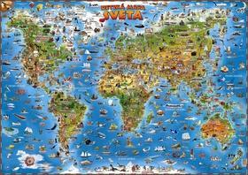 Detská mapa sveta