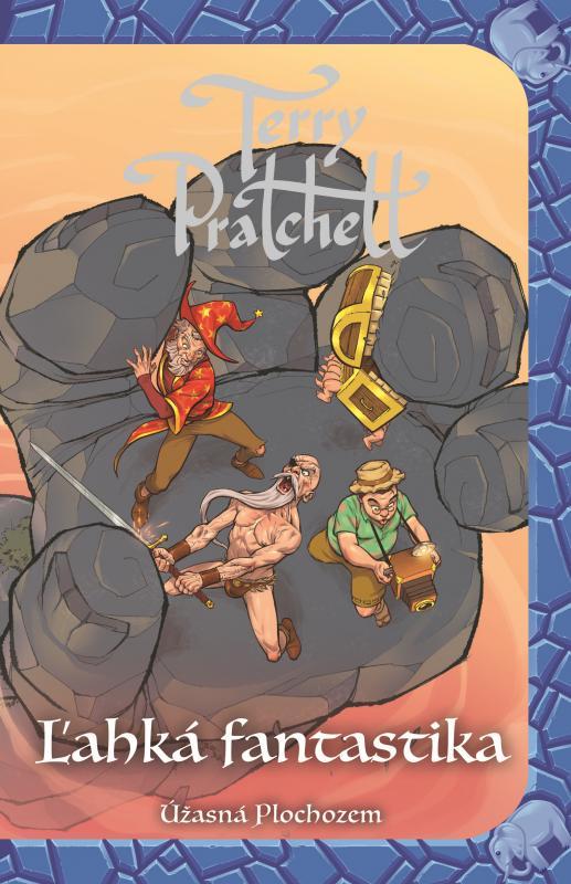 Kniha: Ľahká fantastika (Úžasná Plochozem 2, Vetroplaš 2) - Terry Pratchett