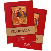 Filokalia II. diel (prvá + druhá časť) SET