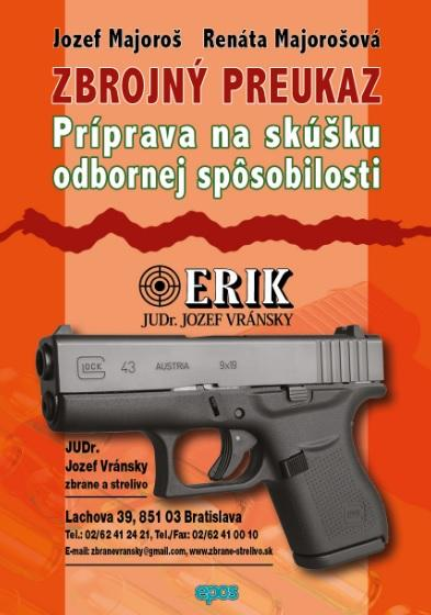 Kniha: Zbrojný preukaz - Jozef Majoroš