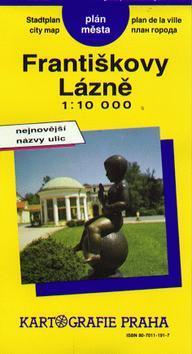 Kniha: Františkovy Lázně 1:10 000autor neuvedený