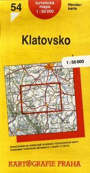 Kniha: TM 54 Klatovsko 1:50 000autor neuvedený