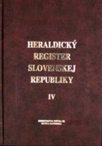 Heraldický register SR 4.