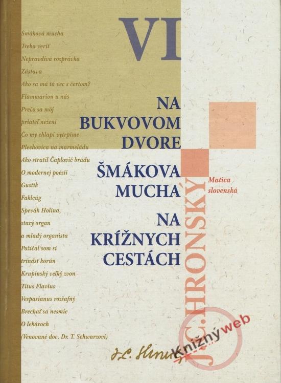 Kniha: Na bukvovom dvore, Šmákova mucha, Na krížnych cestách - Hronský Jozef Cíger