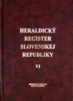 Heraldický register Slovenskej republiky VI