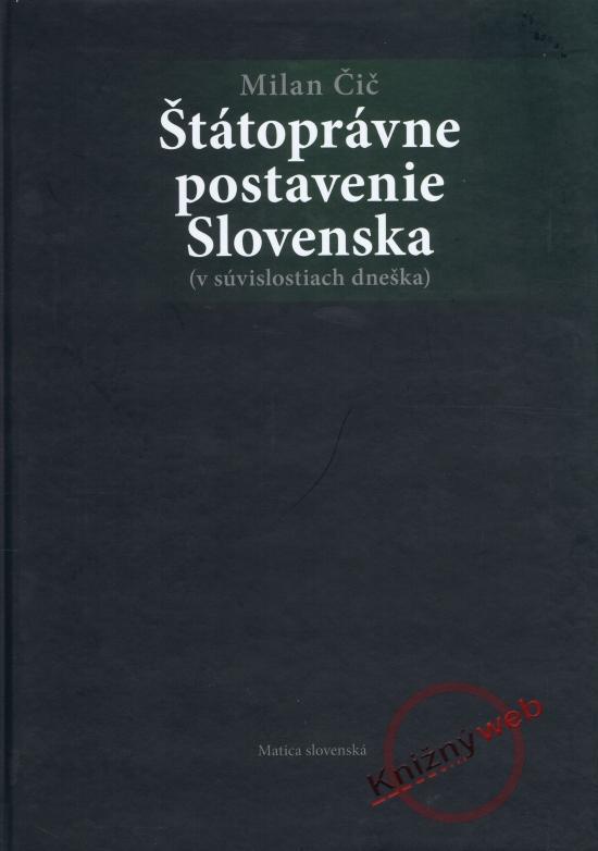 Štátoprávne postavenie Slovenska