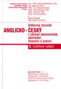 Odborný slovník anglicko- český z oblasti ekonomické, finanční a právní