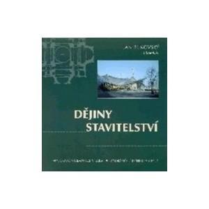 Kniha: Dějiny stavitelství - Ján Bukovský