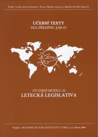 Modul 10 Letecká legislativa