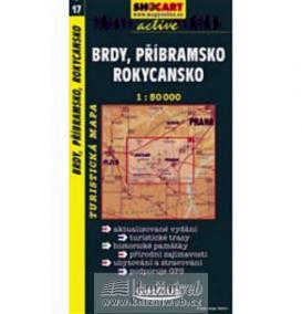 Brdy, Příbramsko, Rokycansko  1:50T -  turist .mapa