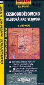Českobudějovicko, Hluboká nad Vltavou  - 1:50000 tur. mapa