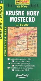 Krušné hory-Mostecko 1:50T -  turist .mapa