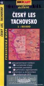 Český les, Tachovsko 1:50T -  turist .mapa