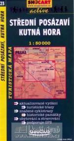 Střední Posázaví, Kutná Hora 1:50T -  turist .mapa