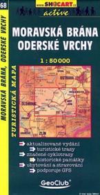 Moravská Brána, oderské vrchy č. 68