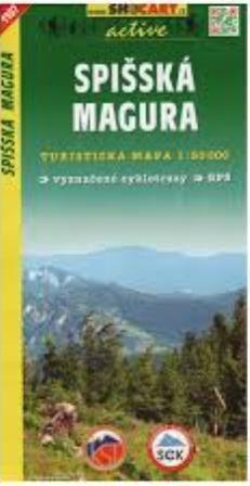 Kniha: Spišská Magura 1:50 000autor neuvedený