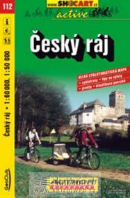 Český ráj - cyklomapa