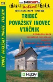 Tribeč, Považský Inovec, Vtáčnik 1:100 000