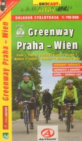 Greenway Praha - Wien 1:110 000
