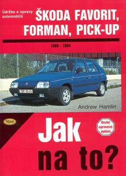 Škoda Favorit, Forman, Pick-up - 1989 - 1994 - Jak na to? - 37.