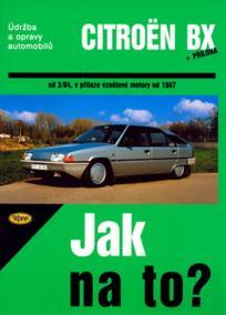 Citroën BX 16,17 a 19 - Jak na to? od 3/84 - 33.