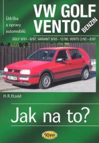 VW Golf III/Vento benzin - 9/91 - 12/98 - Jak na to? - 19.