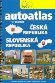 Autoatlas ČR + SR 1:240 000