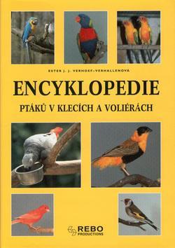 Encyklopedie ptáků v klecích a voli.