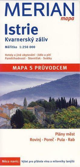 Istrie - Merian mapa