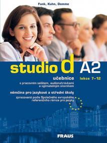 Studio d A2/2 - učebnice + CD /lekce 7-12/