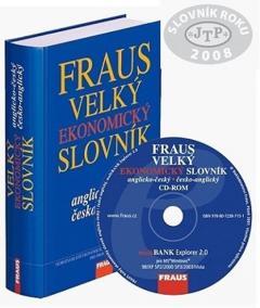 FRAUS komplet Velký ekonomický slovník AČ-ČA (kniha + CD-ROM)