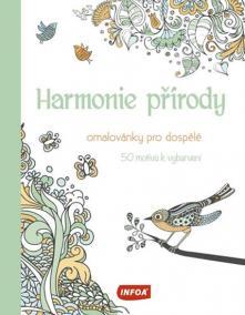 Omalovánky pro dospělé - Harmonie přírody