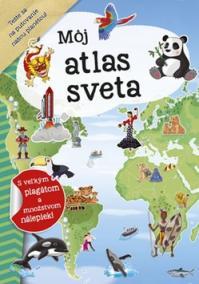 Môj atlas sveta + plagát a nálepky