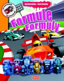 Omalovánky / Maľovanky - Formule / Formuly