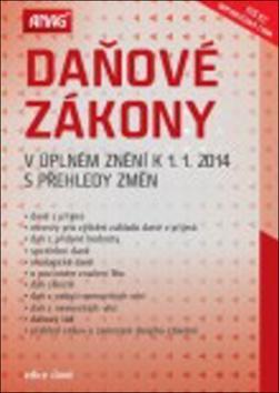 Kniha: Daňové zákony v úplném znění k 1. 1. 2014 s přehledy změnautor neuvedený
