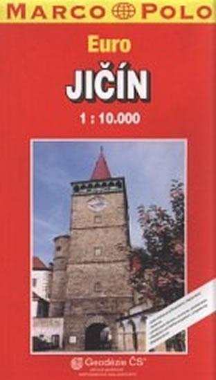 Kniha: Jičín/plán GCS 1:10Tautor neuvedený