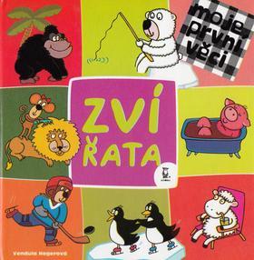 Kniha: Zvířata - Vendula Hegerová