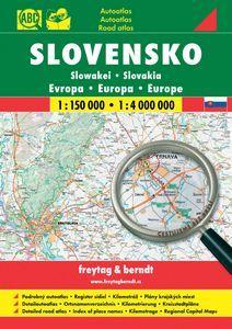 Kniha: Slovensko 1:150 000, 1:4 000 000autor neuvedený