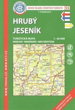 Kniha: KČT 55 Hrubý Jeseníkautor neuvedený