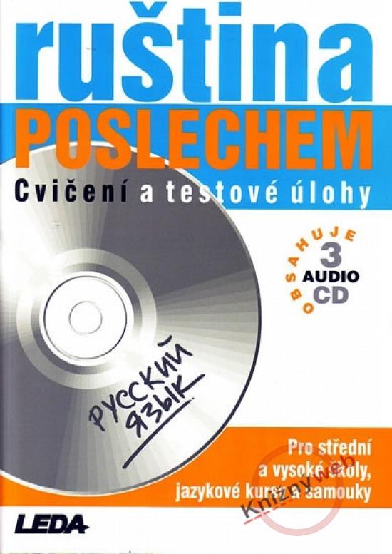 Ruština poslechem, cvičení a test. úlohy