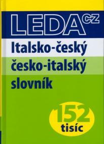 Italsko-český česko-italský slovník- 152tisíc