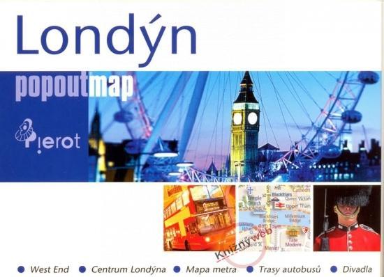 Kniha: Londýn - popoutmapkolektív autorov