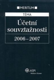 Účetní souvztažnosti 2006-2007