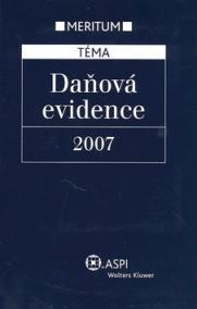 Daňová evidence 2007
