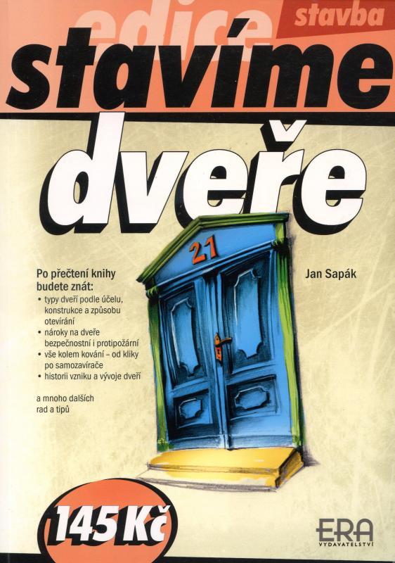 Kniha: Dveře - edice Stavíme - Sapák Jan