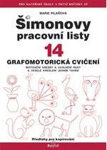 Kniha: ŠPL 14 - Grafomotorická cvičení - Marie Pilařová