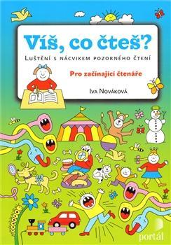 Kniha: Víš, co čteš? - Iva Nováková